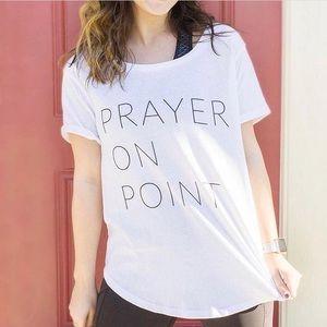Prayer on Point Tee